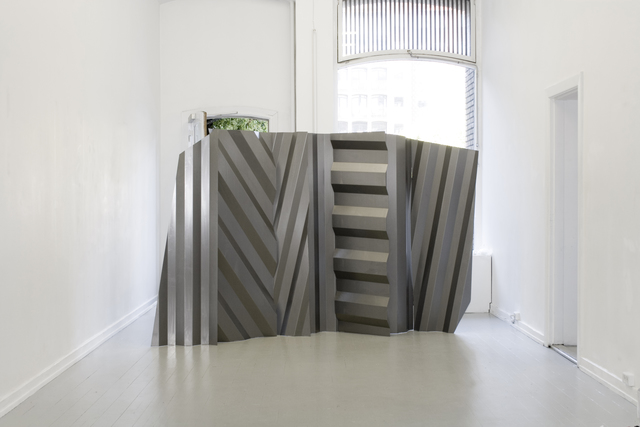 Study O Portable, 'Diffuse Screen', 2016, Installation, Carbon Steel, Etage Projects
