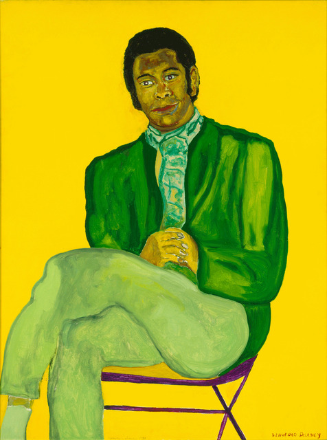 , 'Portrait of a Young Musician,' 1970, The Studio Museum in Harlem
