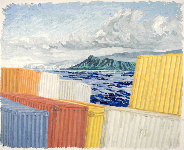 , 'Approaching Diamond Head,' 2017, K. Imperial Fine Art