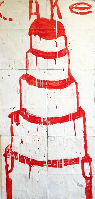 , 'Cake (Cherry on White),' 2017, Madelyn Jordon Fine Art