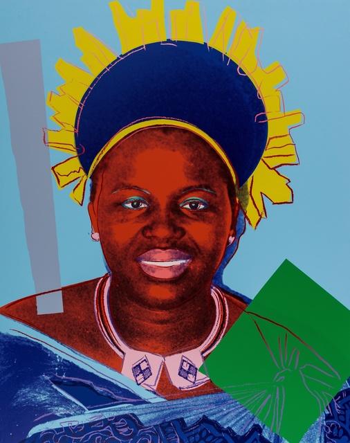 Andy Warhol, 'Reigning Queens. Queen Ntombi Twala of Swaziland (Feldman & Schellmann II.347)', 1985, Forum Auctions