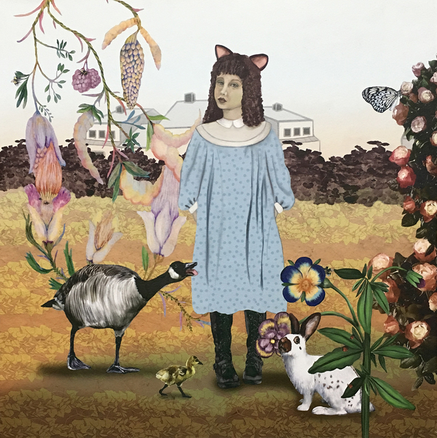 , 'The Goose, Rabbit, and a Girl ,' , Sparrow Gallery