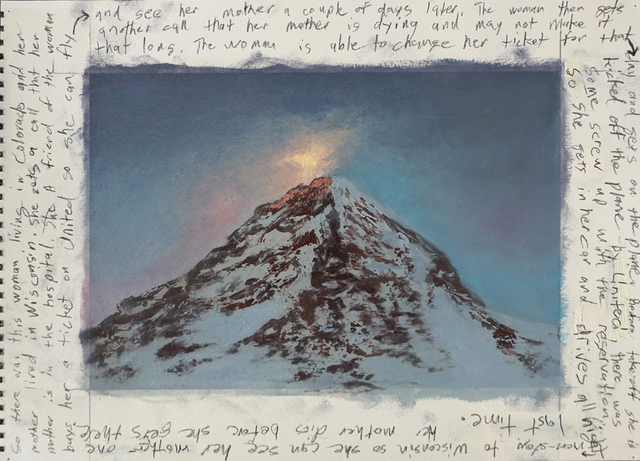 , 'Mountain with an Unrelated Story,' 2018, Nohra Haime Gallery