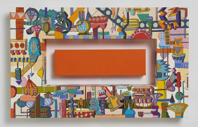 Eun-mi Kim, 'Push a Button(Orange)', 2019, Gallery LEE & BAE