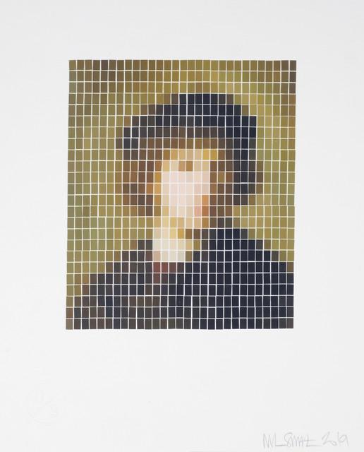 Nick Smith, 'Rembrandt - Self Portrait - (Microchip)', 2019, Rhodes