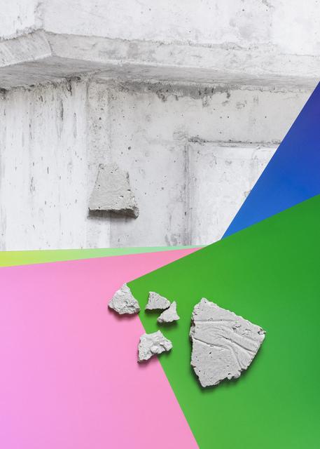 , 'Concrete Compositions (Series 3) #3,' 2015, Galerie pompom