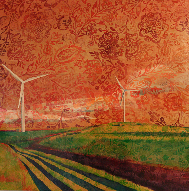 , 'Wind Farm No. 3,' 2014, Kiechel Fine Art