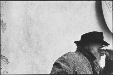 Federico Fellini Looking Between Fingers, Satyricon