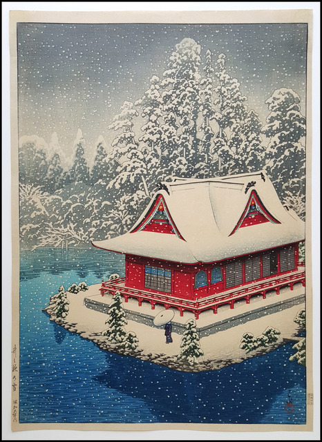 , 'Snow at Inokashira,' 1928, Verne Collection, Inc.
