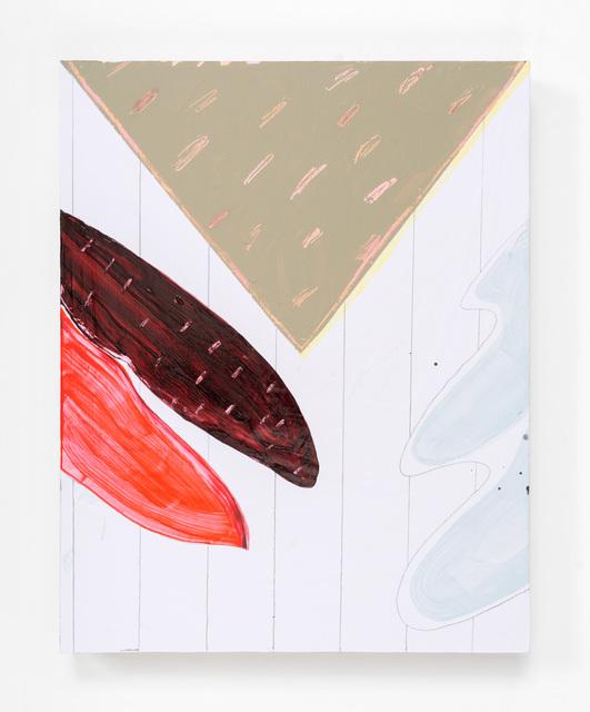 , ' Untitled (Crimson Left Leaf),' 2016, PROTO Gallery