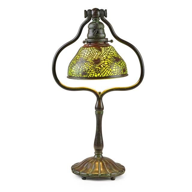 Tiffany Studios, 'Pine Needle Desk Lamp, New York', Early 20th C., Rago/Wright
