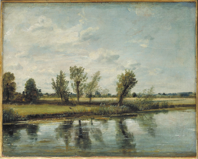 , 'Watermeadows near Salisbury,' 1829/30, Victoria and Albert Museum (V&A)