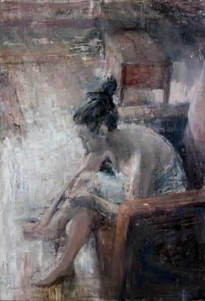 Tibor Simon-Mazula, 'She arrived home', 2018, ArtConscious
