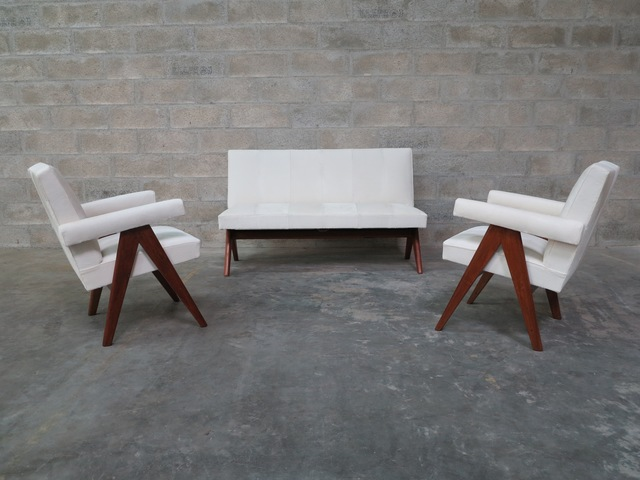 ", '""Public Bench settee"",' 1959-1960, 1950"