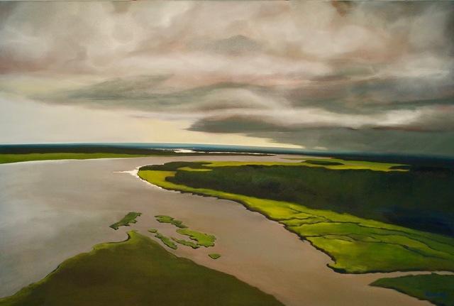 , 'Release,' 2017, Miller Gallery Charleston