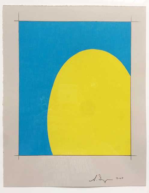 , 'Saarinen Table (yellow/blue),' 2010, HATHAWAY | Contemporary Gallery