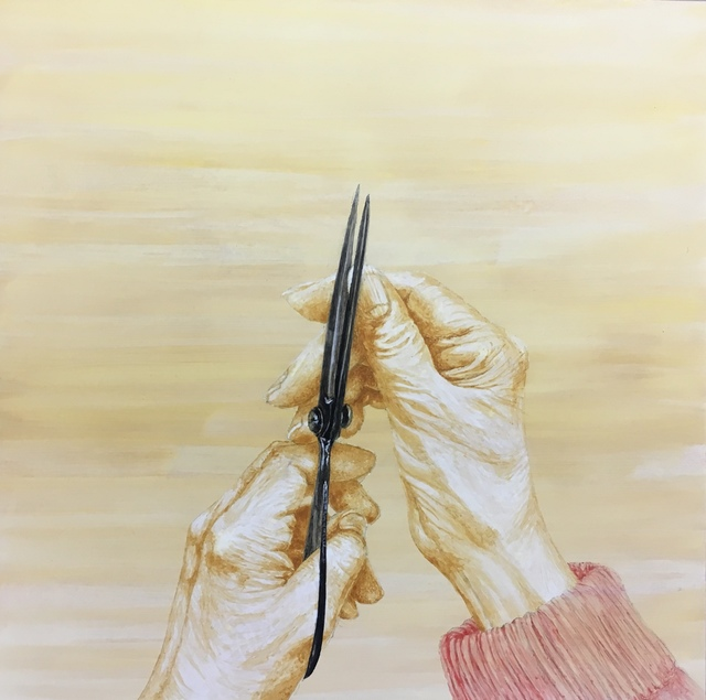 , 'Popo's Scissors: Cutting Nails,' 2018, Resource Art
