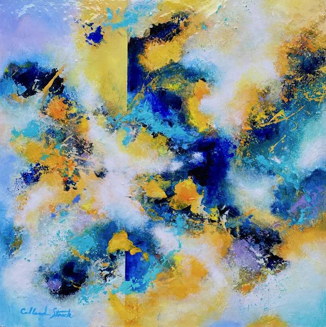 Mary Ellen Strack, 'Harnessing Energy', 2021, Painting, Acrylic/ Mixed Medium, Springfield Art Association