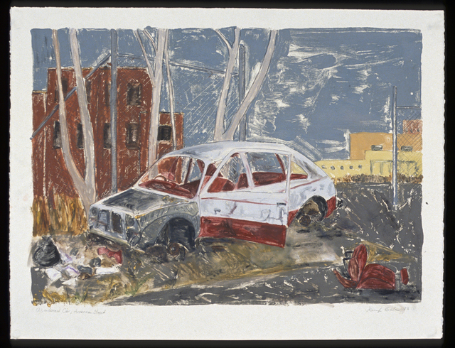 , 'Abandoned Car, American Street,' 1993, InLiquid