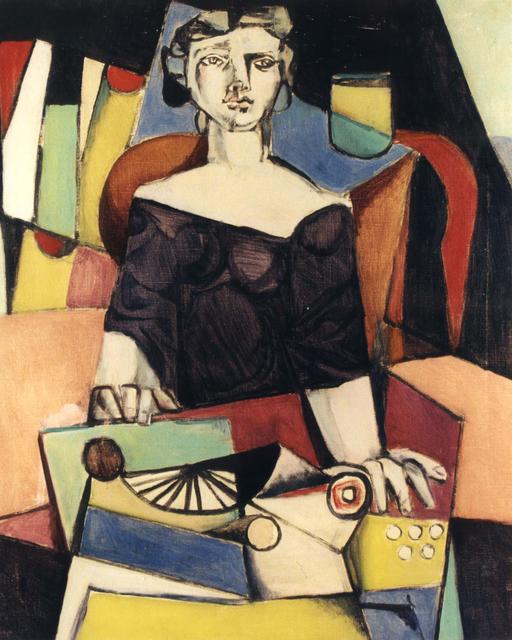 , 'La dattilografa,' 1948, DIE GALERIE