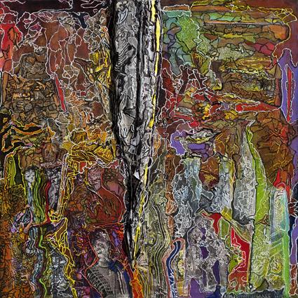 , 'Estado de filigrana,' 2015, Galería Rubbers Internacional