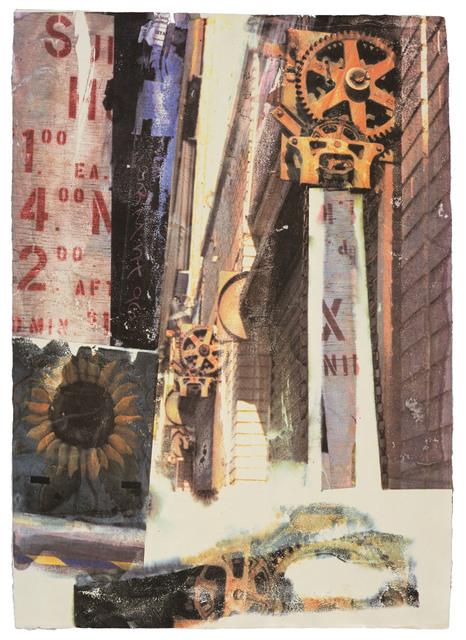 Robert Rauschenberg, 'L.A. Uncovered #9', 1998, Print, 11 color screenprint, Gemini G.E.L.