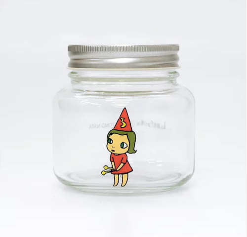 Yoshitomo Nara, 'Girl Storage Jar (320ml, Red)', ca. 2017, Lex Art Gallery