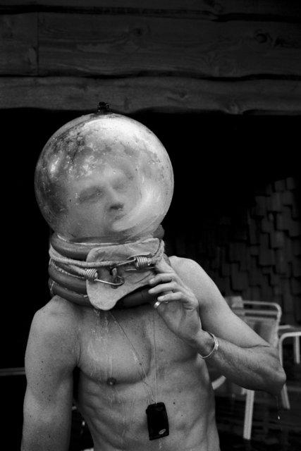 , 'Bubble Head,' 2006, Machamux