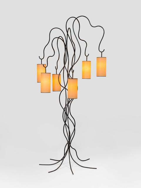 """, '""""liane"""" floorlamp,' ca. 1960, Galerie Jacques Lacoste"""