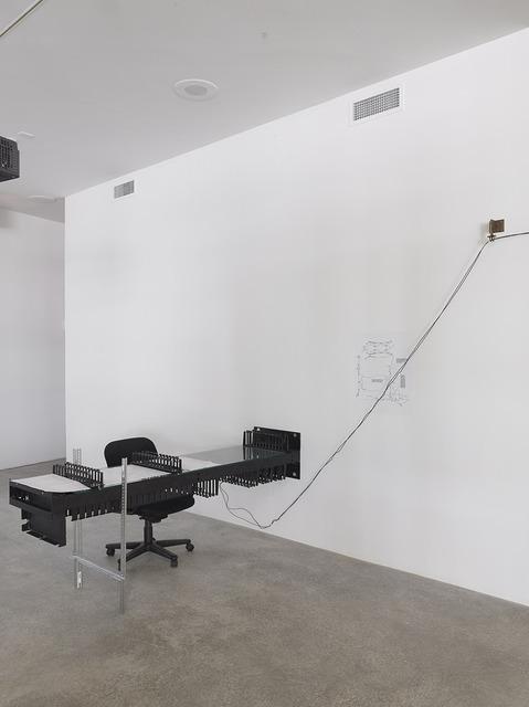 , 'Desk with John Keenen,' 2013, Bortolami