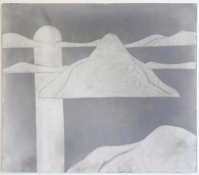 , 'Landscape (Midnight Sun),' 2014, Galerie Buchholz