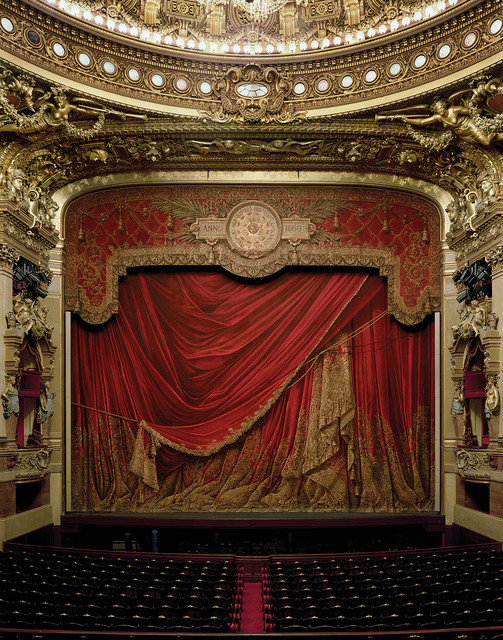 , 'Curtain, Palais Garnier, Paris, France,' 2009, Damiani