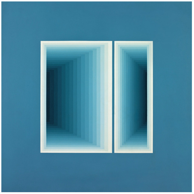 Sara Modiano, 'Posibilidad de dos ventanas N.3', 1977, Instituto de Visión