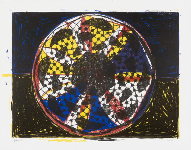 Terry Winters, 'Clocks and Clouds/4', 2013, Print, 5 color lithograph, Gemini G.E.L.