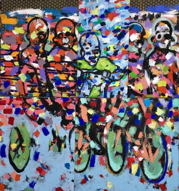 Cheikhou Ba, 'Something Beautiful', 2019, Kristin Hjellegjerde Gallery