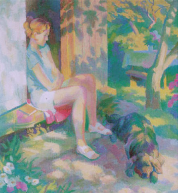 , 'Girl With Dog,' 1999, Gallery 901