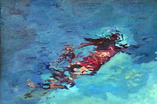 , ''Liquid Light',' 2019, Art on Avenues