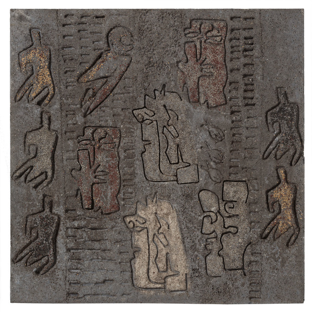 , 'Senapsträdet och himlens fåglar,' 1961, Andréhn-Schiptjenko
