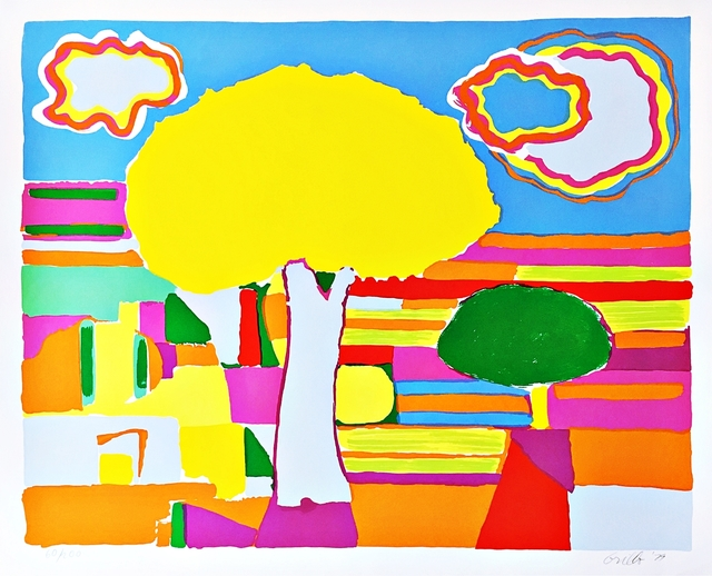 , 'Bright Landscape,' 1979, Alpha 137 Gallery