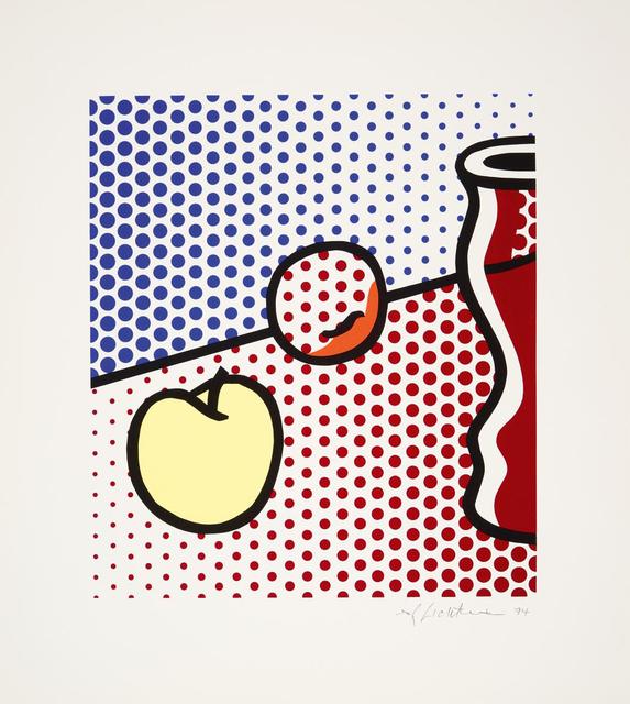 Roy Lichtenstein, 'Still Life with Red Jar', 1994, Galerie Ostendorff