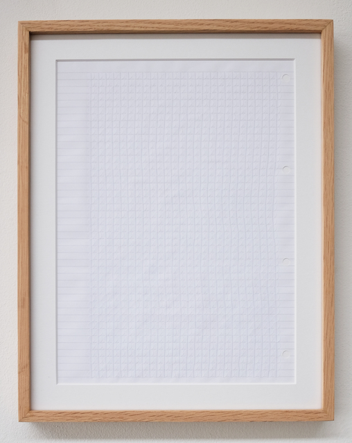 , 'Dotted Lines 01 ,' 2018, Thkio Ppalies
