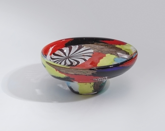 'Oriente' glass bowl  model 5509