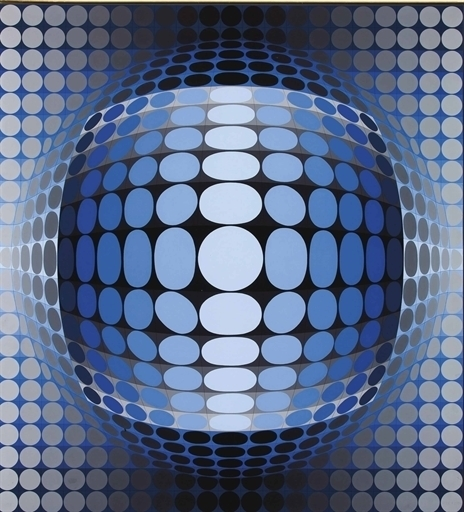 Victor Vasarely, 'Athem', Christie's