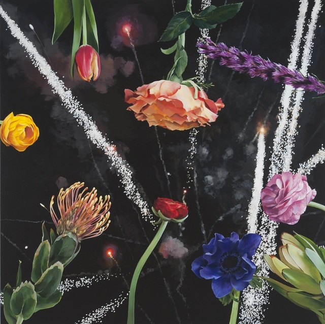 , 'Fireworks,' 2015, SPONDER GALLERY