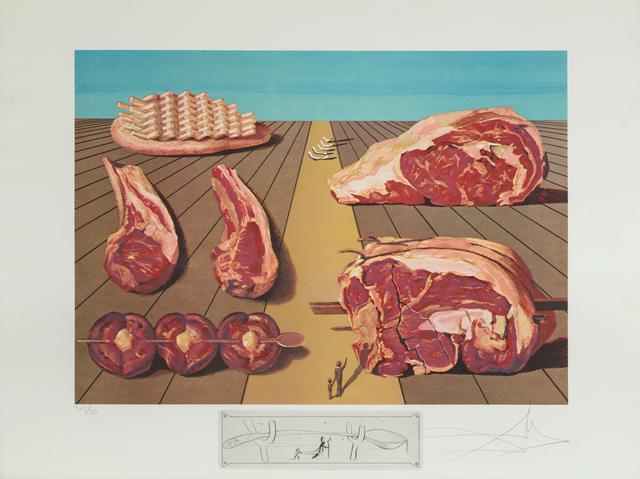 Salvador Dalí, 'Sodomized Entrees (Les Entre-Plats Sodomisés)', 1971, Heather James Fine Art