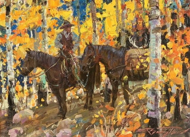 , 'Fall Hunt ,' , Greg Thompson Fine Art