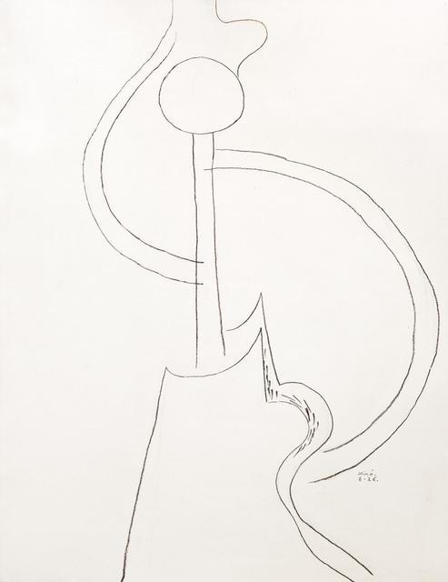 Joan Miró, 'Danseuse espagnole', 1926, Galeria Marc Domenech