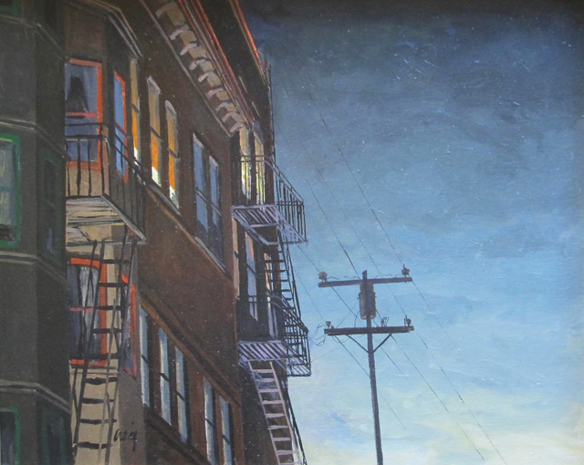 , 'San Francisco Night,' , Desta Gallery