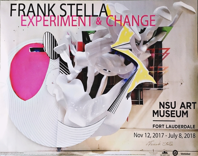 Frank Stella, 'Experiment and Change (Hand Signed)', 2017, Alpha 137 Gallery