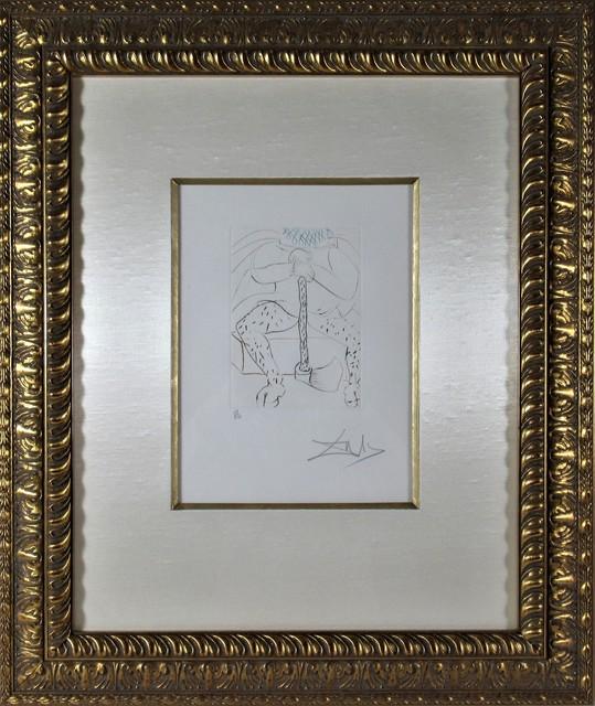 Salvador Dalí, ' Henry VIII', 1970, Joseph Grossman Fine Art Gallery